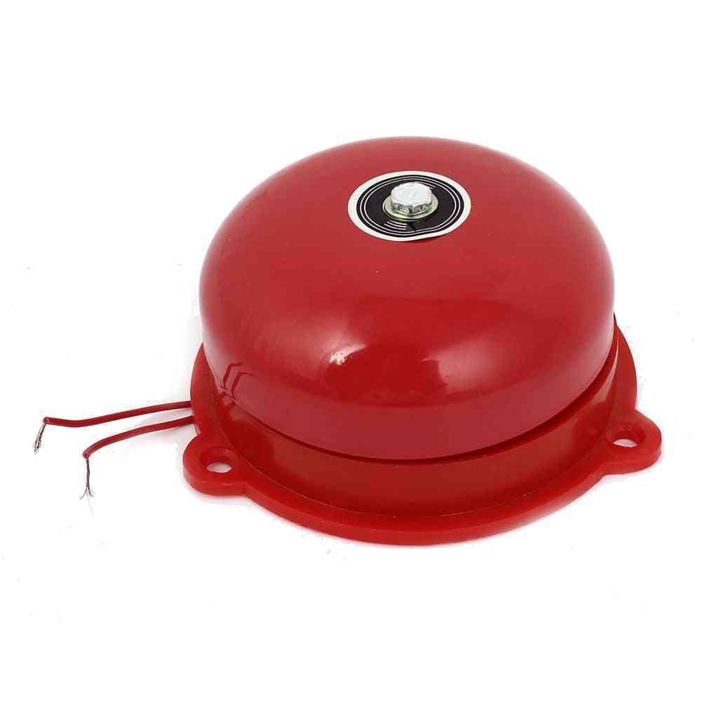Dia Schools Fire Alarm Round Shape, Electric Bell Red