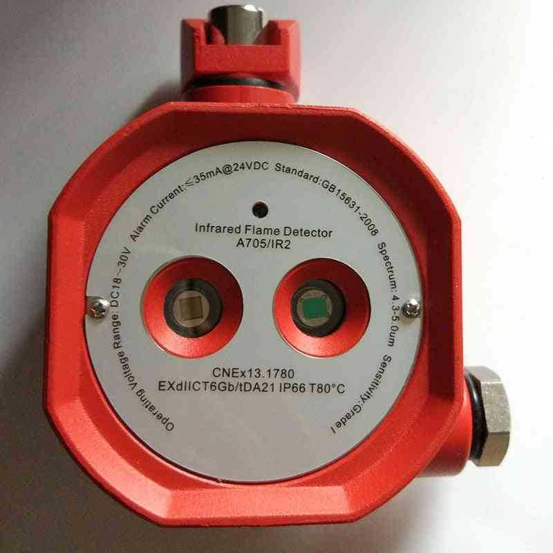 Double Infrared Flame Detector Fire Alarm Relay, Output Fault