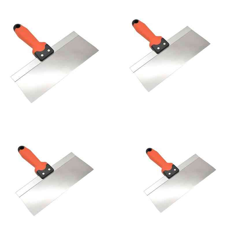 Putty Knife Taping Paint Scraper, Broad, Blade With Plastic Handle