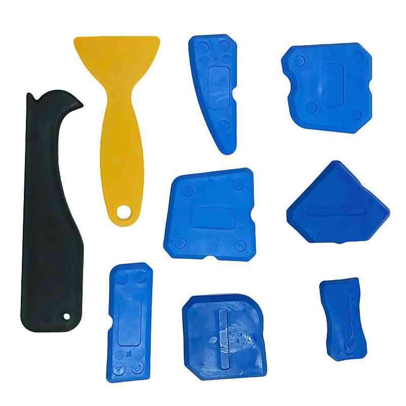 Sealant Spreader Spatula Scraper, Wall Putty Knife, Floor Cleaning Corner Shovel Pressure Seamer Construction Tools