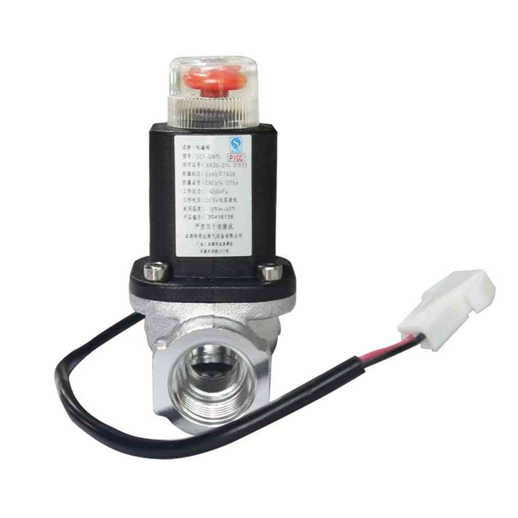 Automatic Sensing Lpg Natural Gas, Emergency Shut Off Solenoid Valve
