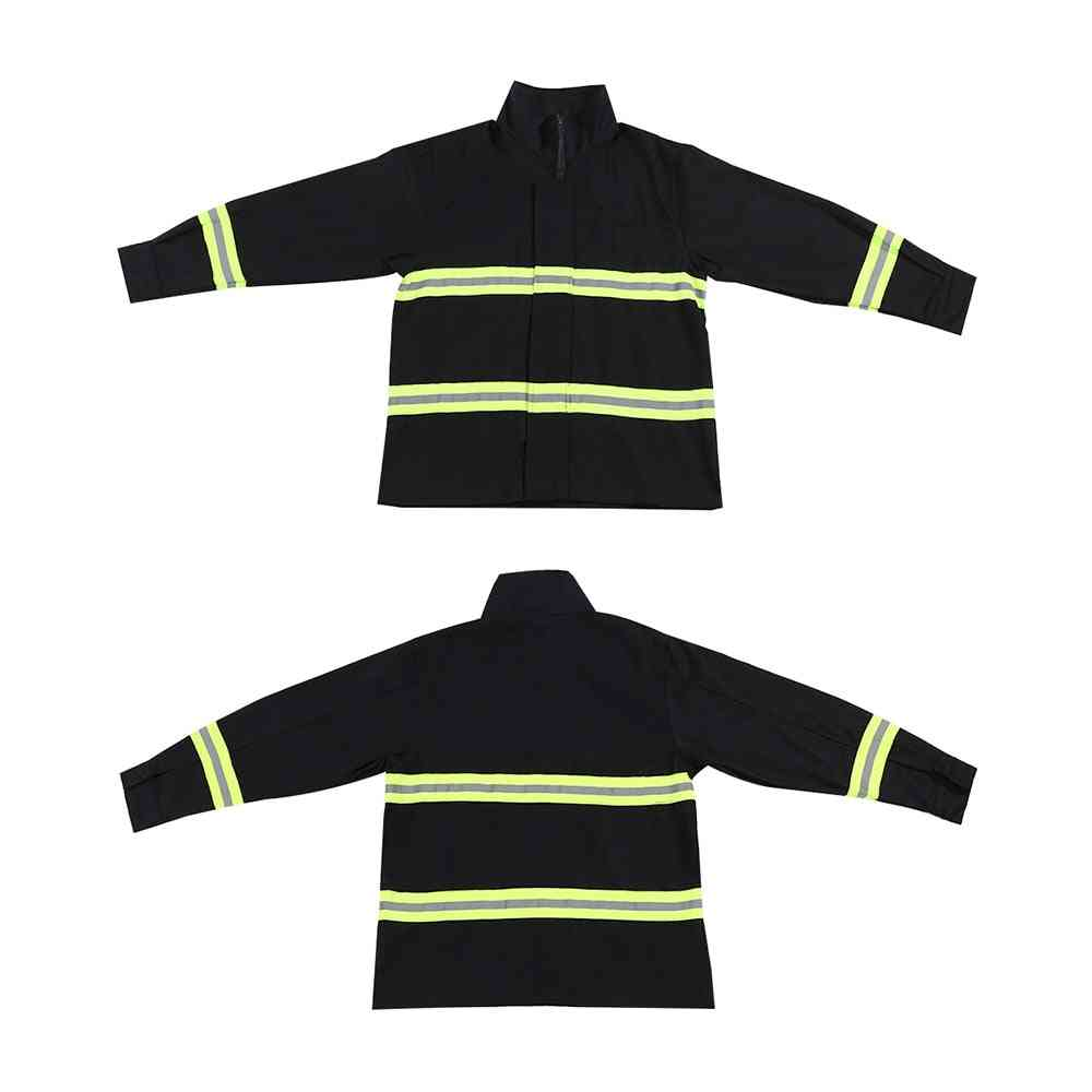 Flame Retardant Clothing, Fire Resistant Waterproof Heatproof Fighting Equipment