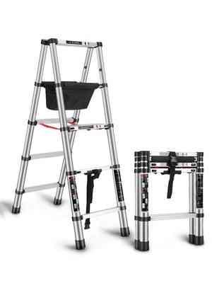 Trestle Multi-function Household Folding Telescopic Ladder