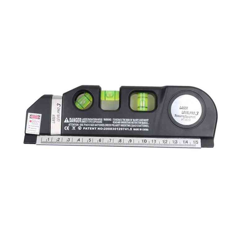 Infrared Laser, Level Cross Line Measure Tape, Multifunction Tools