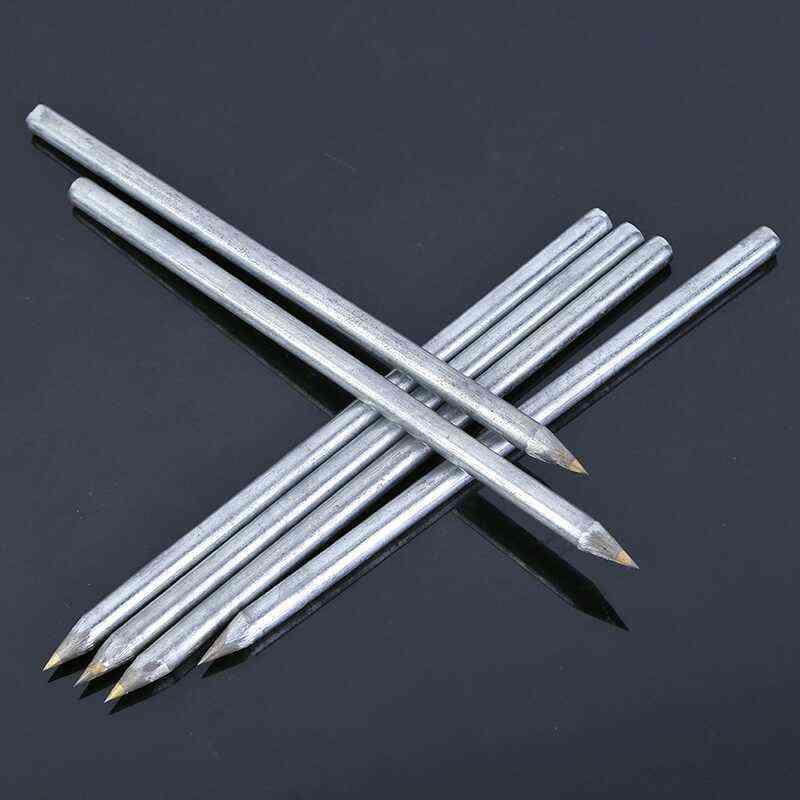 Diamond Glass Cutting Machine Carbide Scriber, Hard Metal Lettering Pen, Construction Tools