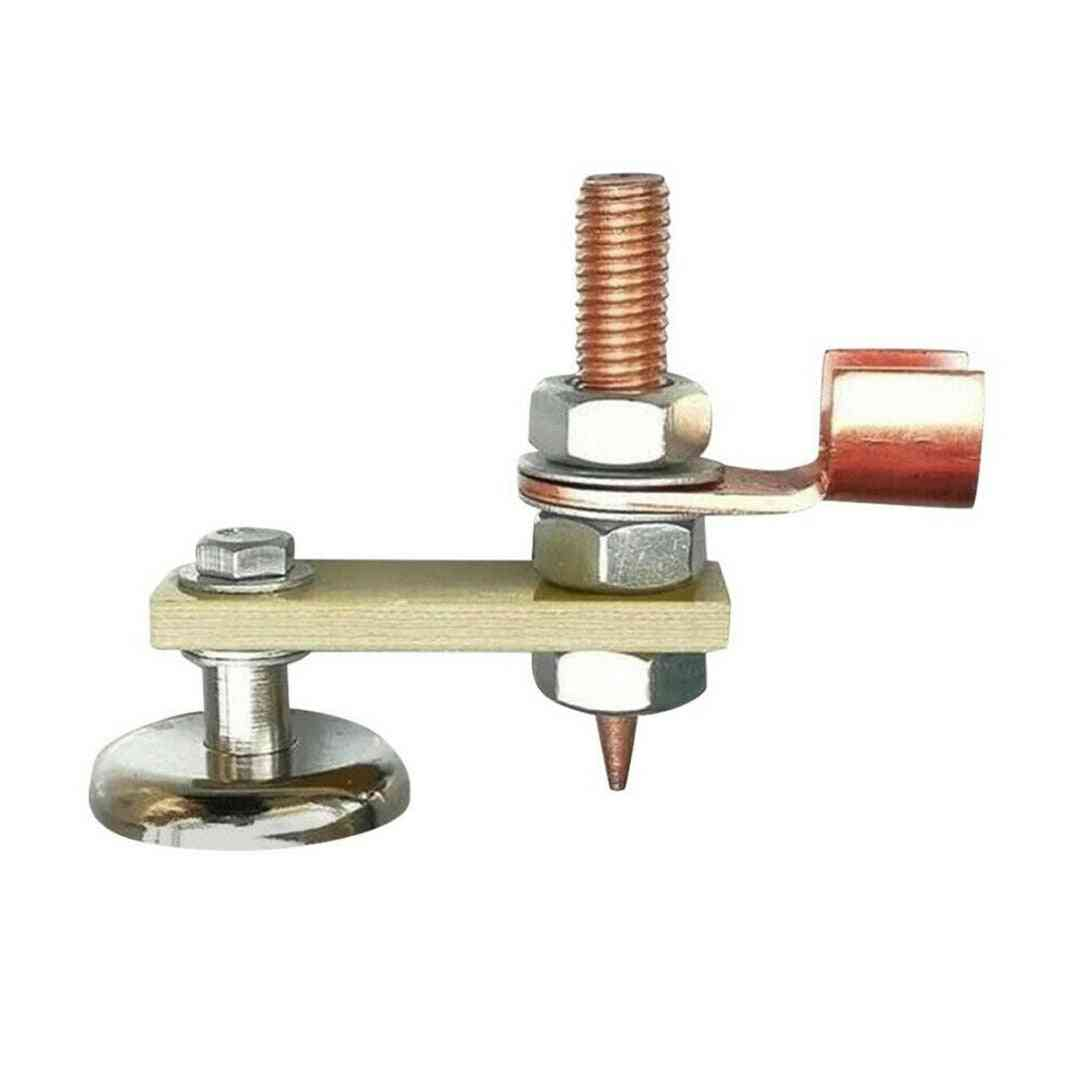 Ground Clamp Welding Magnetic Head Safety Wire Holder With Copper Tail