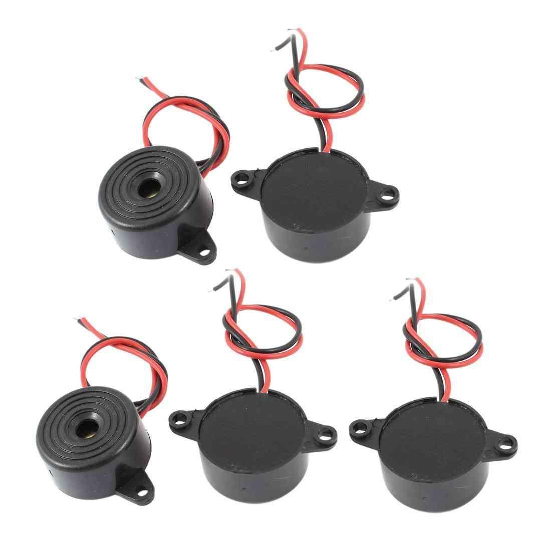 Mool Dc 3-24v 85db Sound Electronic Buzzer Alarm