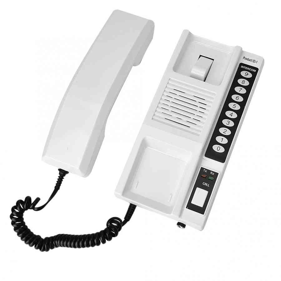 Wireless Intercom System, Secure Walkie Talkie Handsets