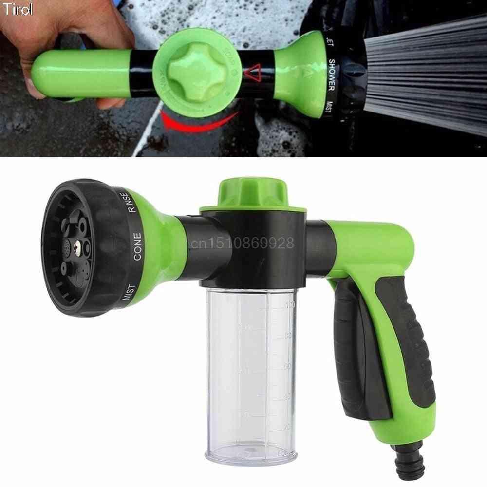 Jet Spray Gun Soap Dispenser, Garden Watering Hose, Nozzle Car Washing Tool