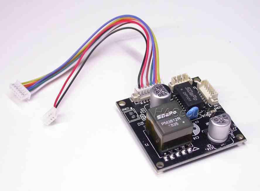 Power Over Ethernet Regulator Module Board Input Dc48v / Output Dc12v 2a End-span + Mid-span Splitter