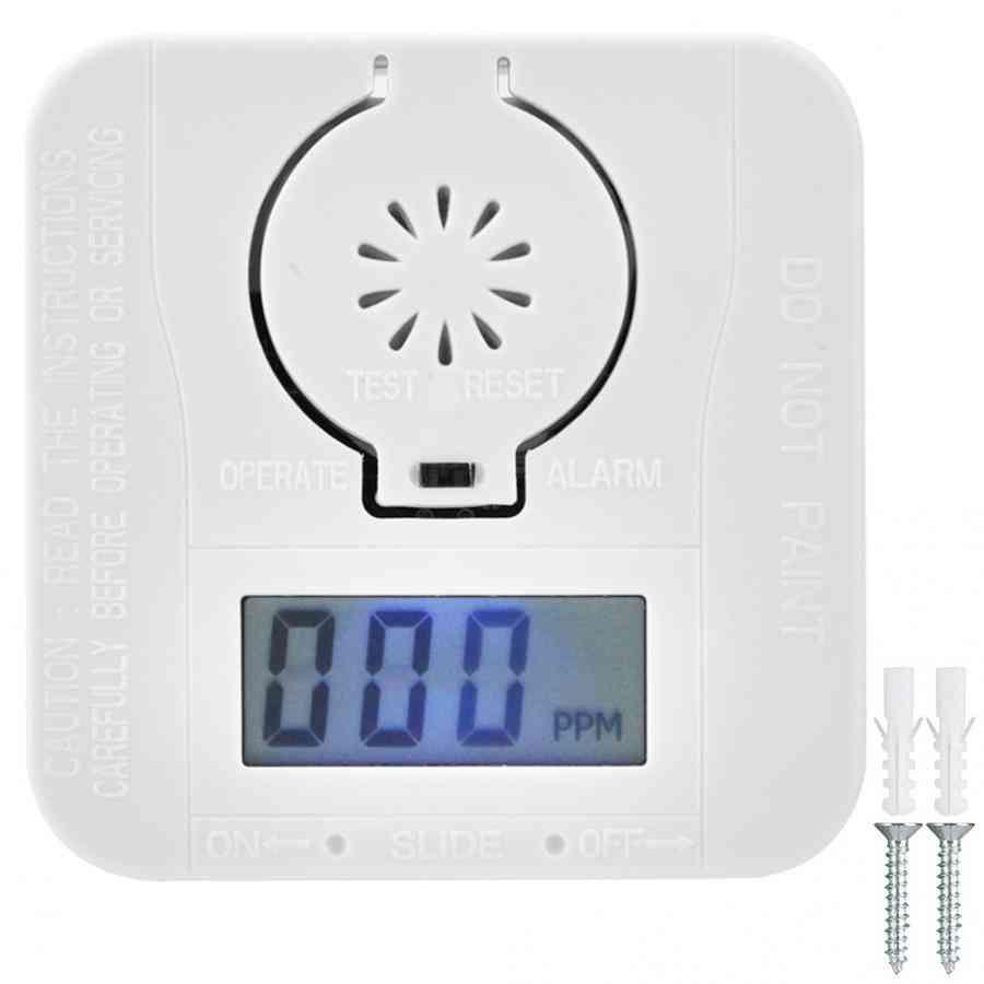 Smoke Detector, Poison Gas Warning Sensor/security Poisoning Alarm