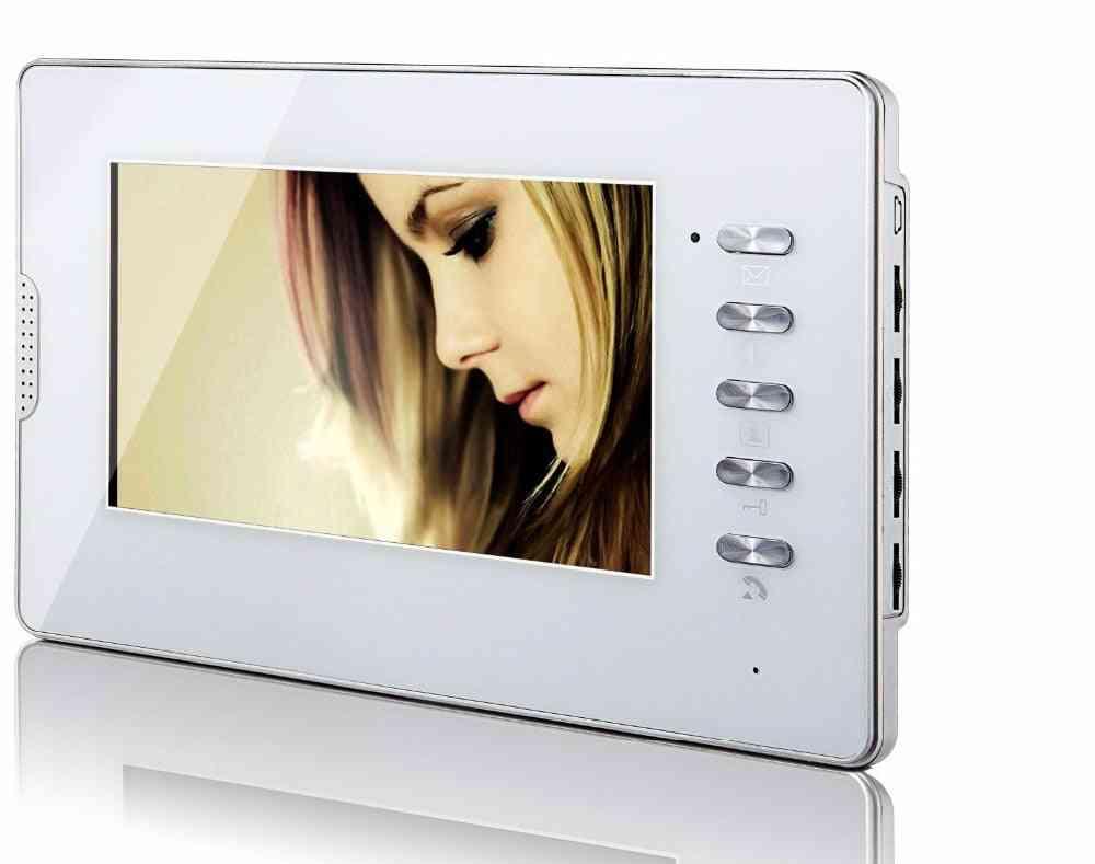 Digital Indoor Monitor Lcd Screen Display For Apartment Video Doorphone Intercom