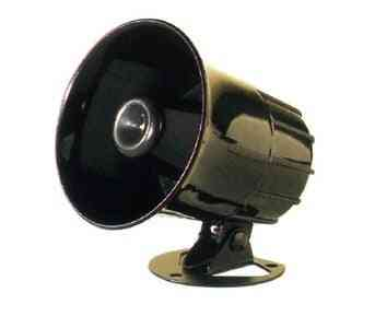 Outdoor Alarm Siren Horn With Bracket For Home Security