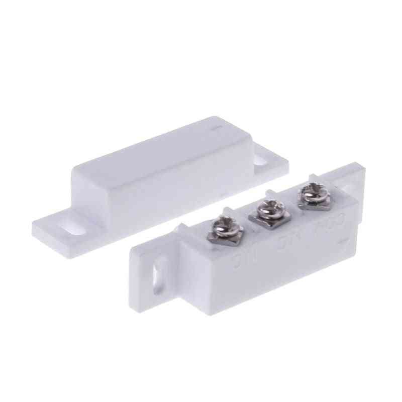 Magnetic Contact Switch Door Sensor, Wired Metal Roller Shutter Doors Alarm System