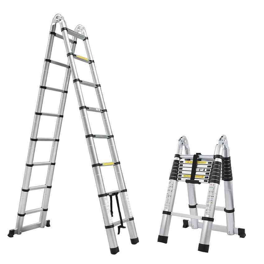 Alluminum Telescopic Ladder With Joint