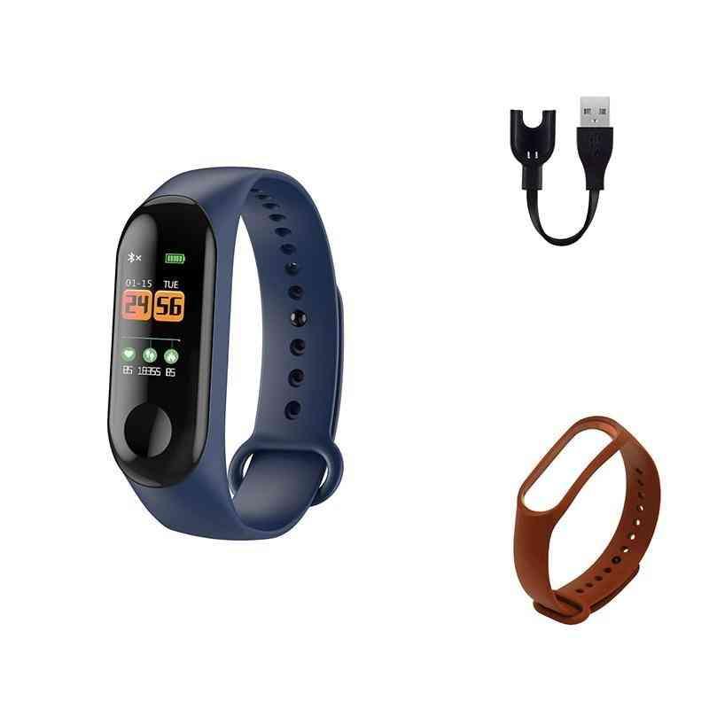 Sports Watch Blood Pressure Heart Rate Monitor Bluetooth Waterproofbracelet