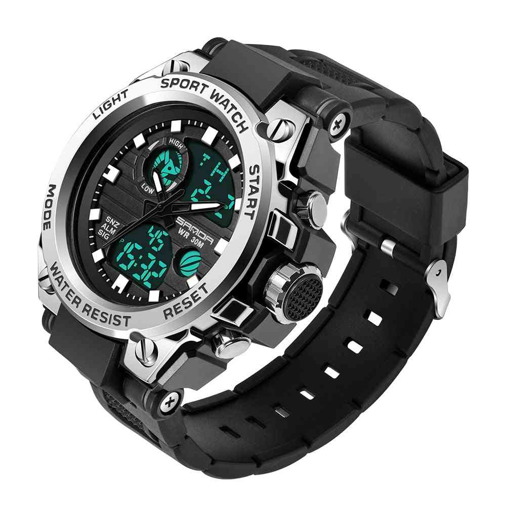 Sports Men's Watches, Luxury Military Quartz Watch