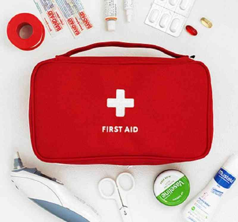 Portable Empty Multi-layer First Aid Bag