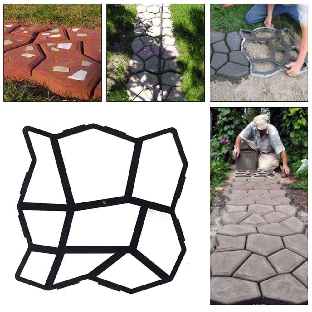Home Garden Floor - Road Concrete Stepping Driveway Stone Path