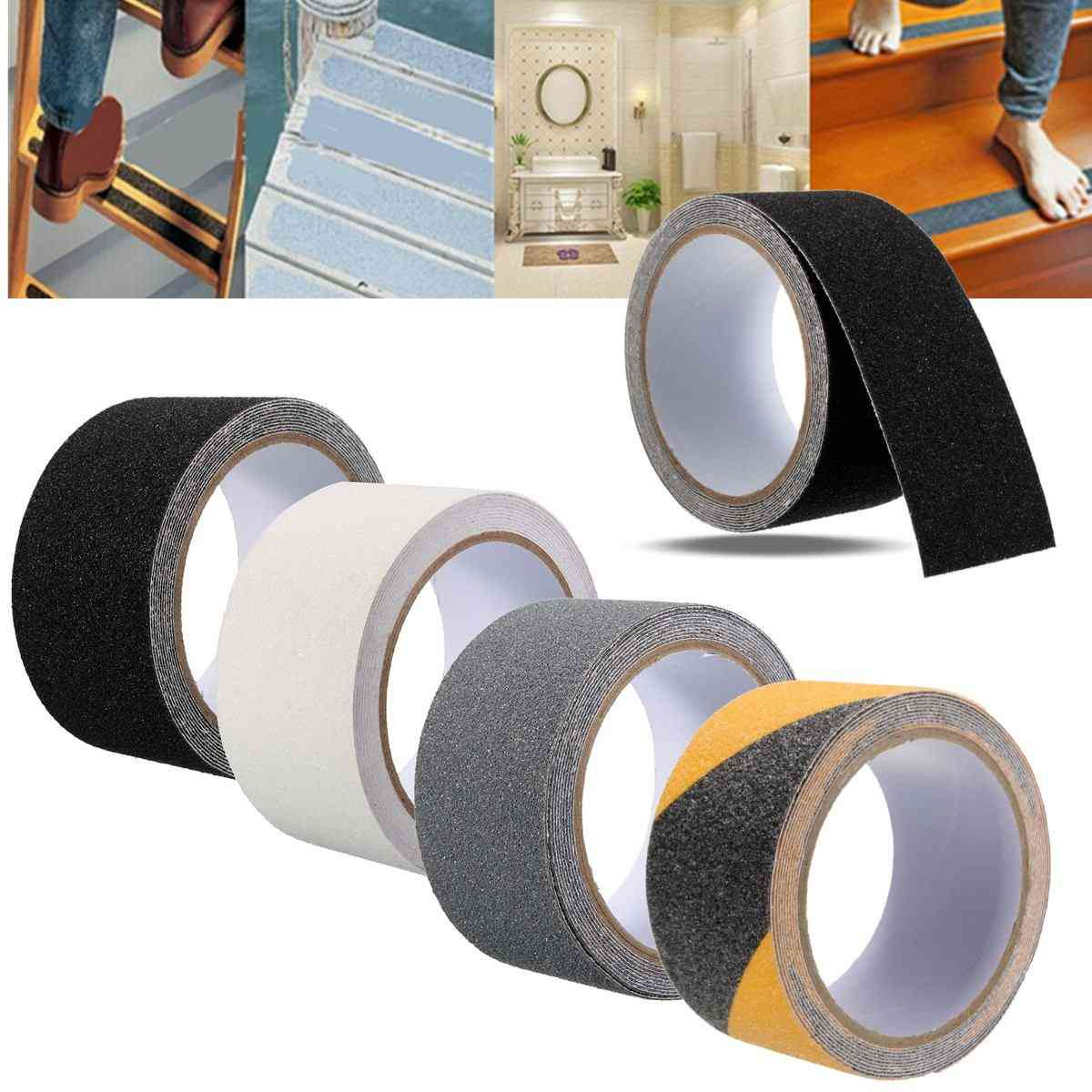 Non Slip Safety Grip Tape, Strong Adhesive Pvc Warning  Stickers