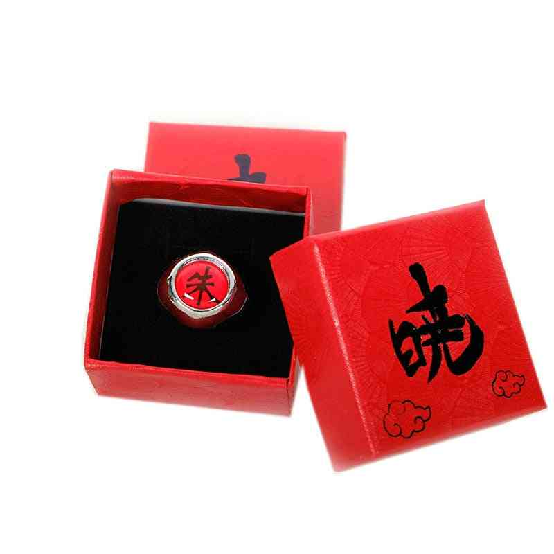 Anime Cosplay Naruto Ring With Box, Adult Finger Props Accessories Cool Stuff