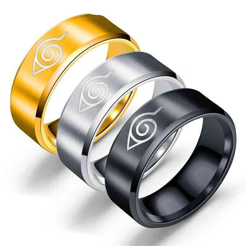 Anime, Stainless Steel Hokage Little Finger Ring