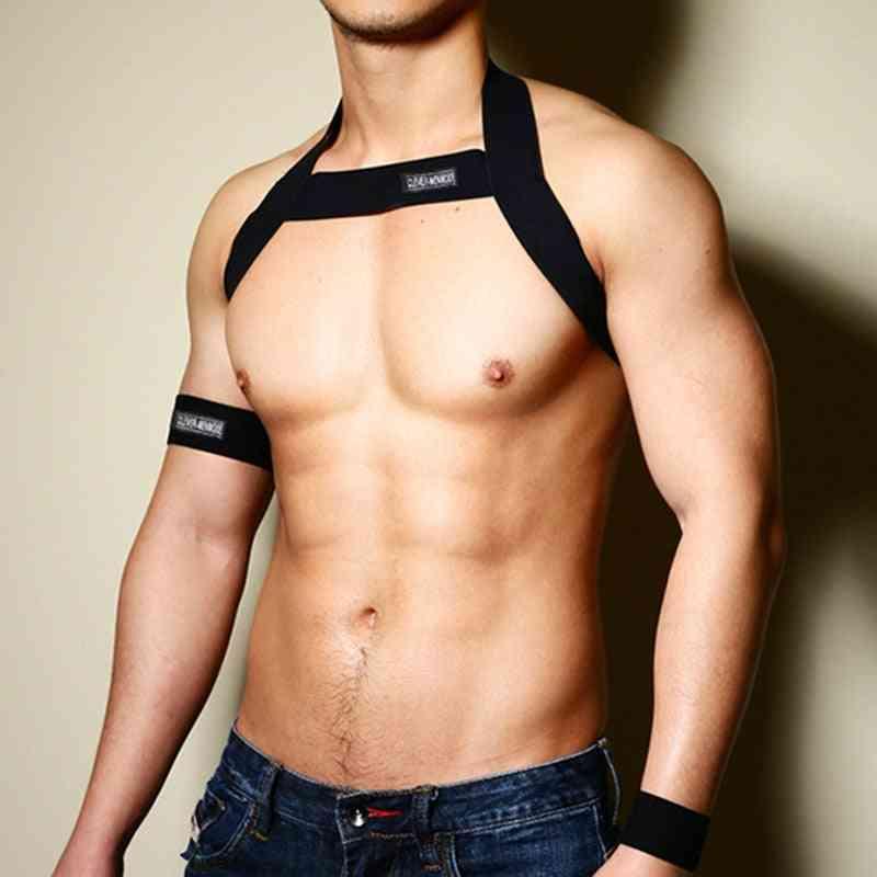 Men Harness Body Chest Belt Lingerie