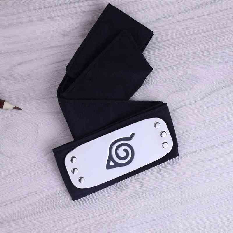 Naruto Kakashi Konoha Headband Cosplay Costumes Accessories