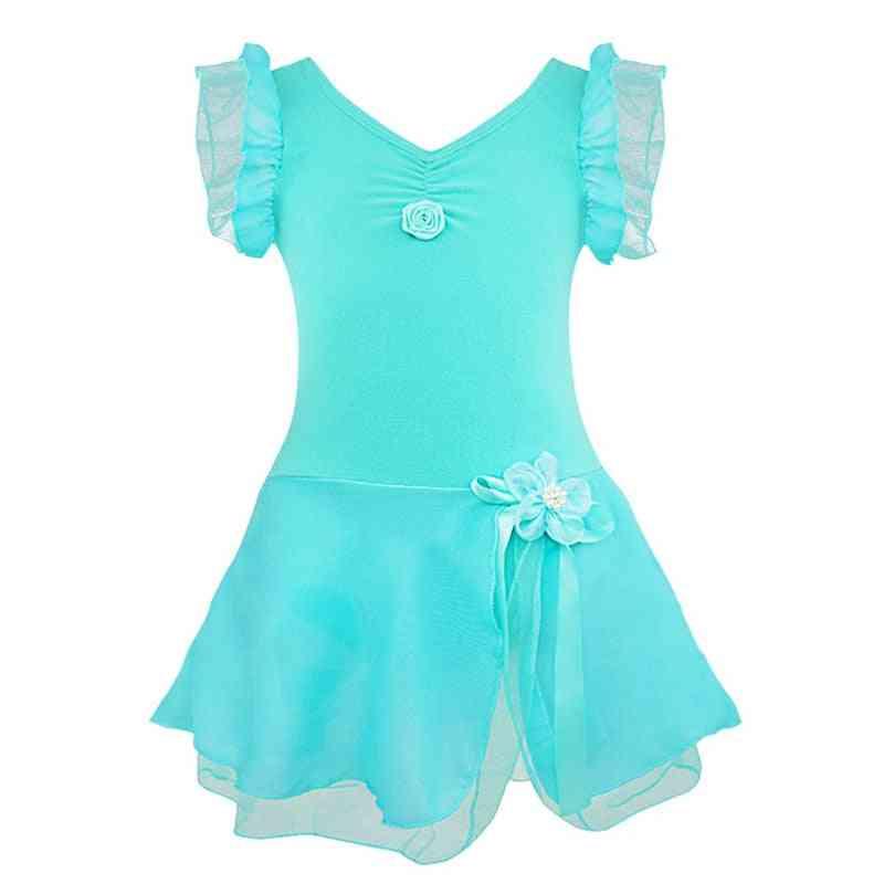 Kids Tutu Ballet Dance Dress Leotard Fancy Costume