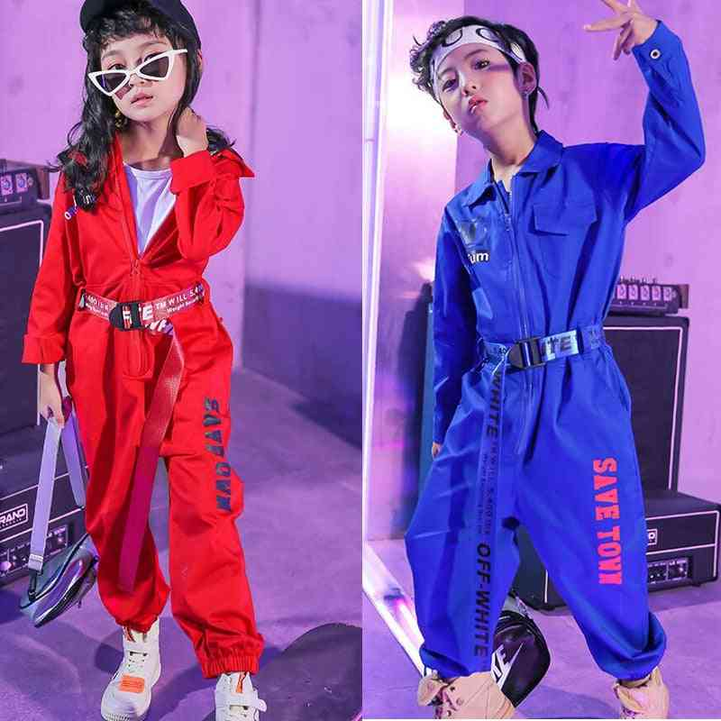 Girls Dancing Clothing Suits, Kids-children's Hip-hop Dance Stage Clothes