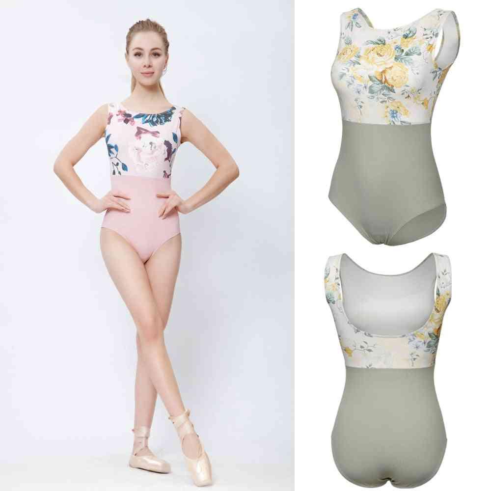 Women Summer Gymnastics Dancing Costume High-quality Ballet