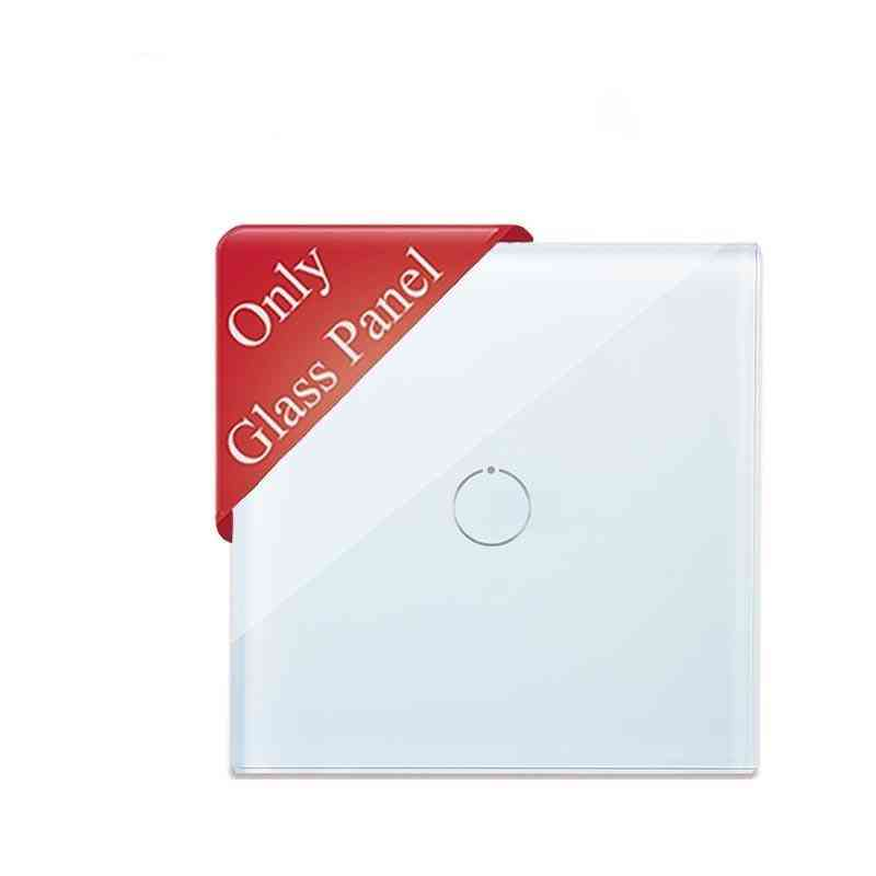Gang Crystal Glass, Simple Style Waterproof Panel, No Function