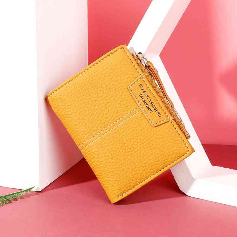 Women Wallet, Soft Leather Female Purse, Card Holder