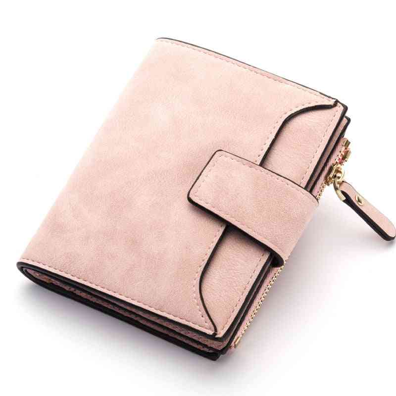 Women Small Slim Coin Pocket Wallets Cards Holders