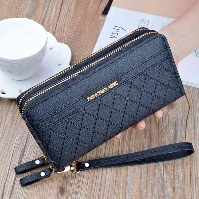 Women's Purses Tassel Coin Card Holder Wallets, Leather Money Bag