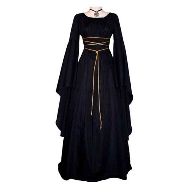 Cotton Polyester Explosion Models Women Long Dress