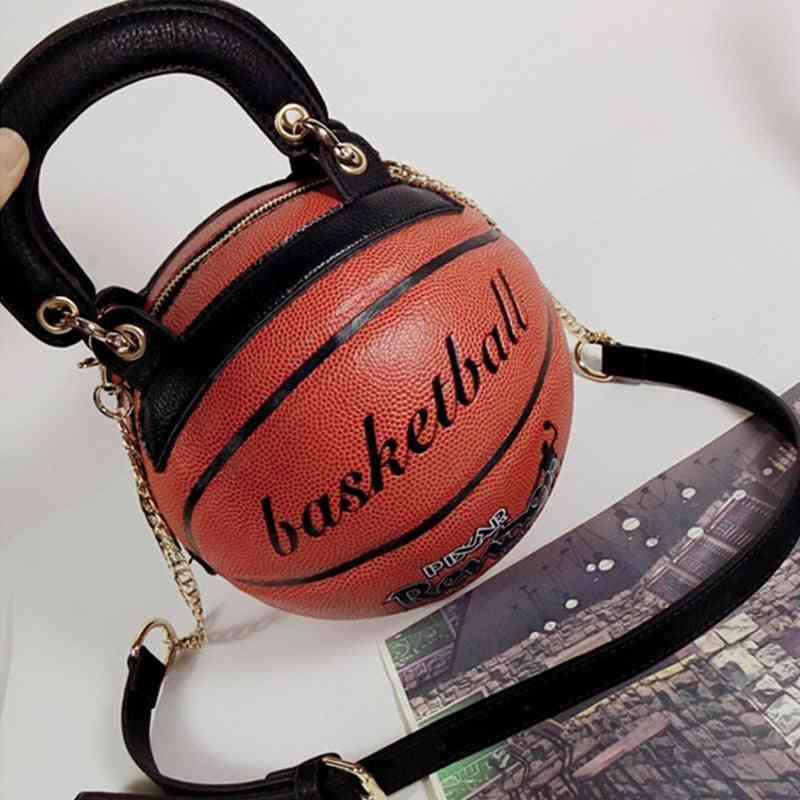 Women Messenger Bags, Fashion Bag Basketball Shape
