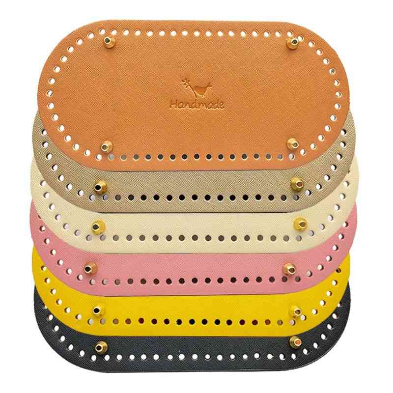 Leather Bag Bottom Base-cushion Pad For Making Diy Shoulder Handbag