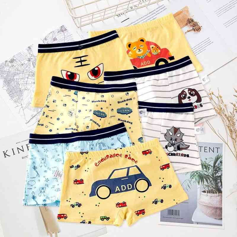 Cotton Underwear For/ Cute Cartoon Baby Boxer/ Underpants Shorts