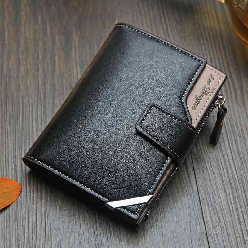 Men's Wallet, Short Multi-function Card Bag