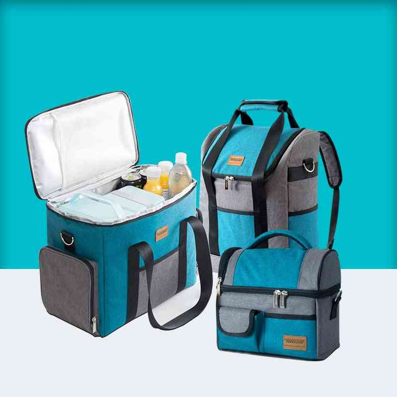 Large Capacity Cooler Insulation Lunch Box