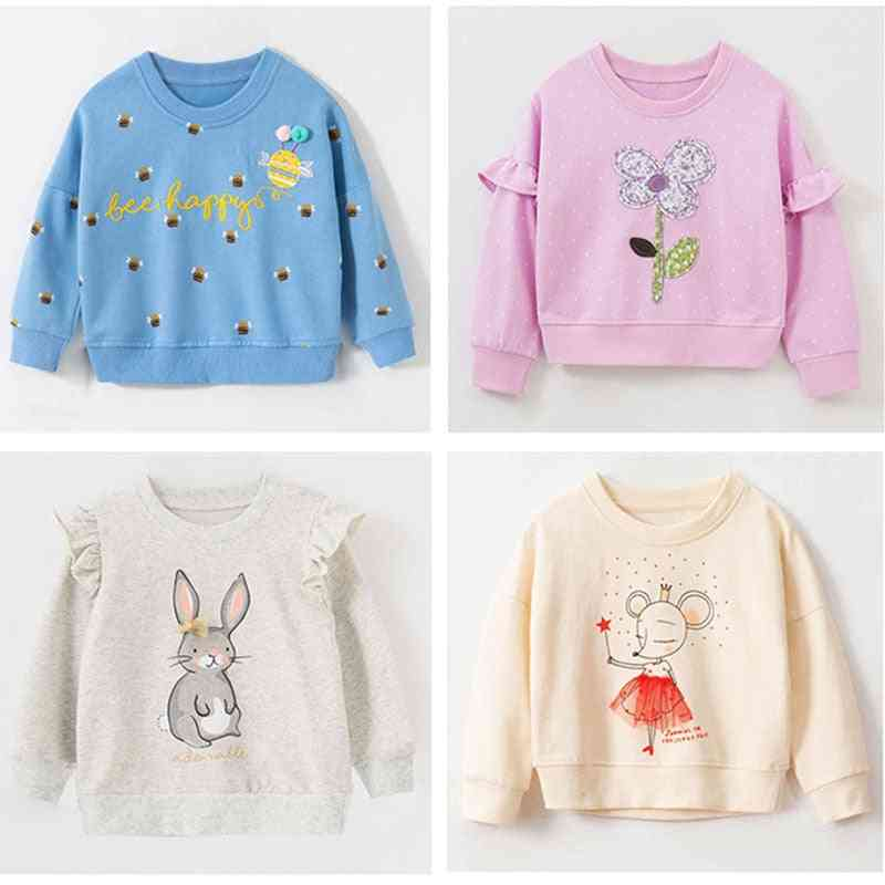 Girls Sweatshirt Tops, T Shirt Blouses, Hoodies Kids Baby Girl Clothes