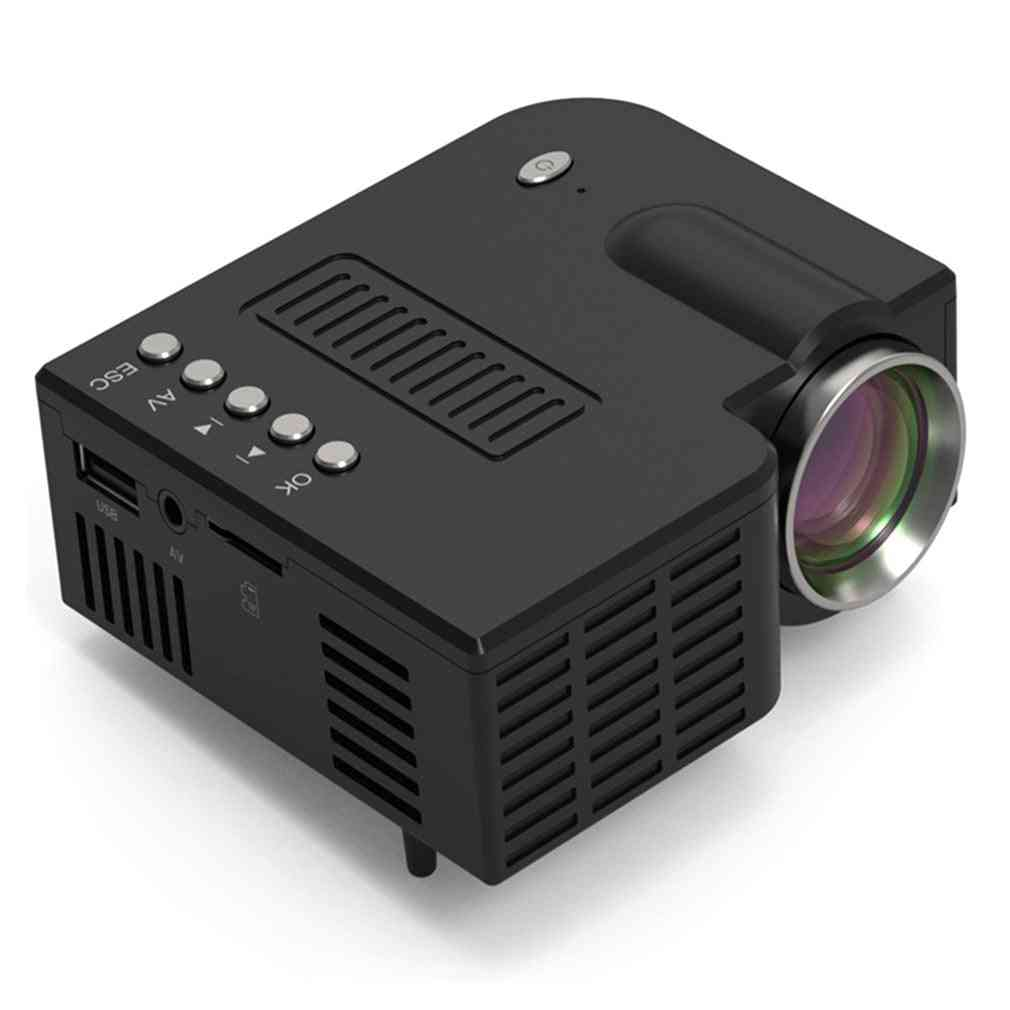 Uc28c Portable Projector Wired Same Screen For Home Theater Movie