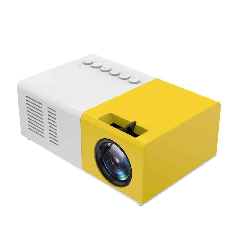 Mini Projector Portable Hd Hdmi Usb Media Player Home Theater