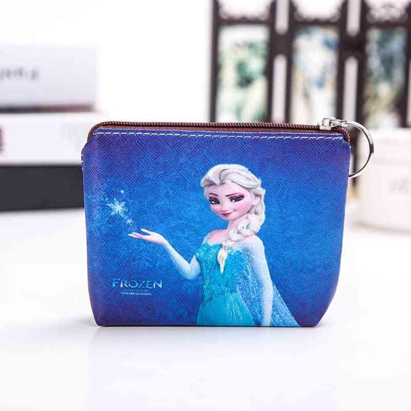 Princess Cartoon Coin Purse, Mermaid, Frozen, Girl Handbag