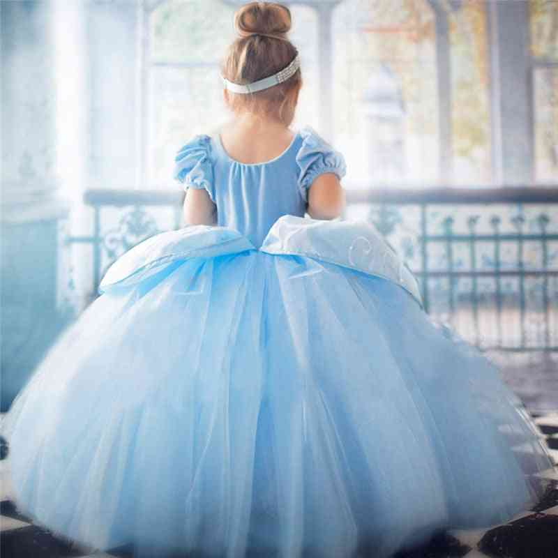 Fantasy Masquerade Role-playing Dress For Girl - Princess, Halloween Cosplay Party Gown