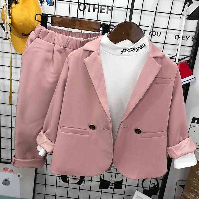 Kid Wedding Suit Baby Boy Blazer Spring New Kids Formal Suits Toddler Gentleman Sets For Party Clothes 2-8 Years