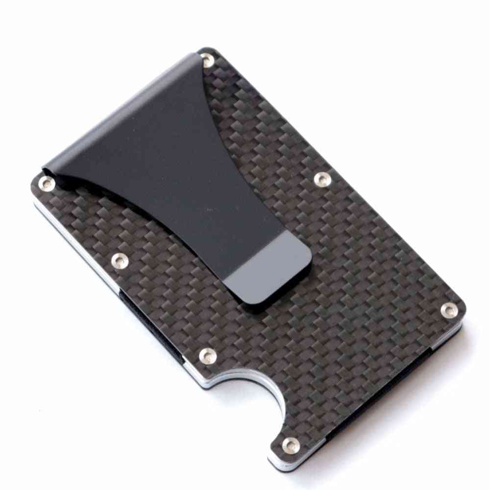 Minimalist Wallet Blocking, Carbon Fiber Wallet Credit Card Holder