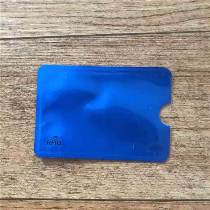 Anti Rfid Bank Card Holder, Id Credit Card Bag & Aluminium Case Protect