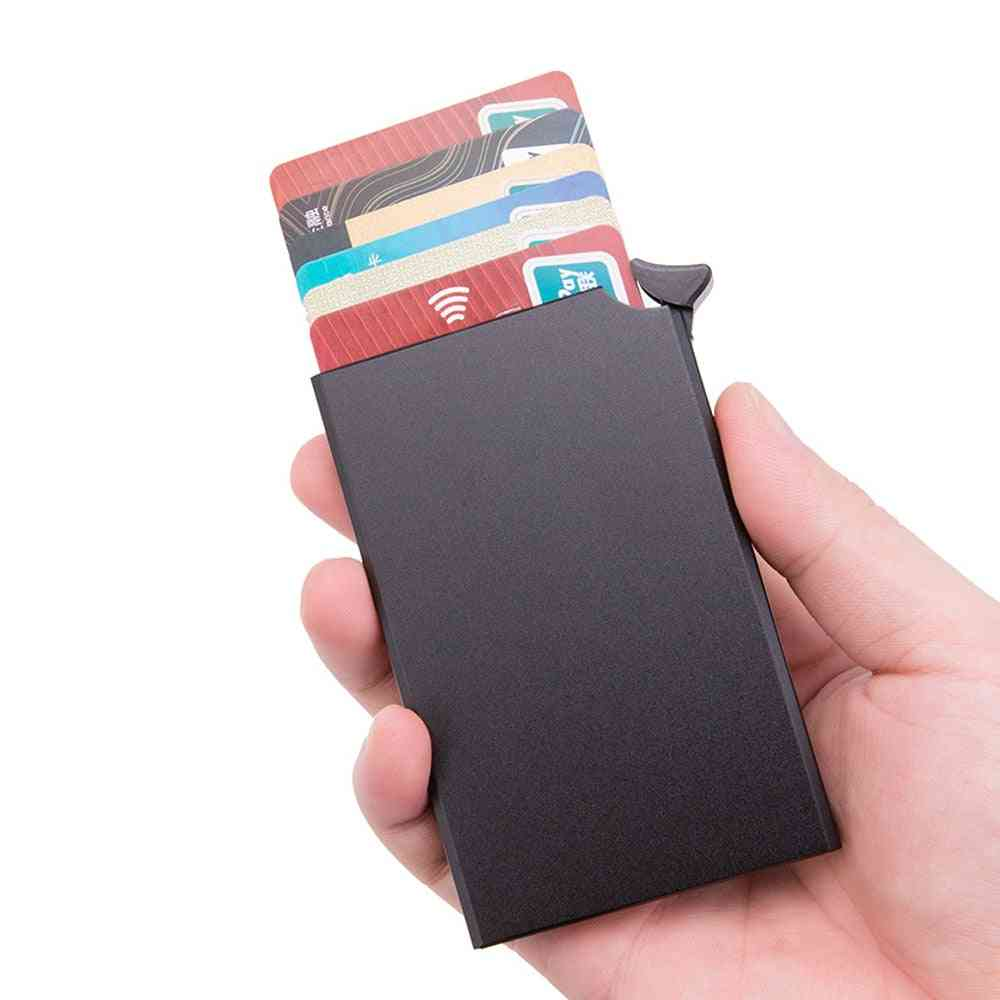 Anti-theft Smart Wallet Thin Id Card Holder